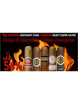 Keep It Burning Cigar Sampler