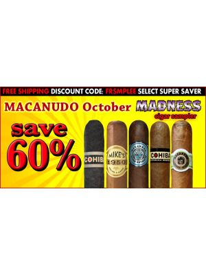 Macanudo October Madness Cigar Sampler