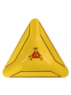 Montecristo Triangle Ashtray Yellow