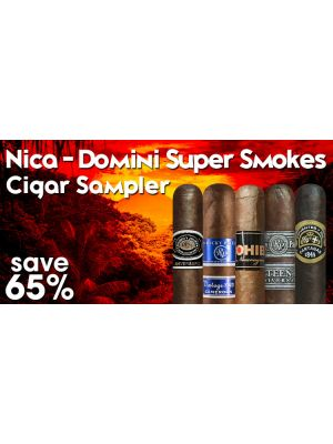 Nica - Domini Super Smokes Cigar Sampler