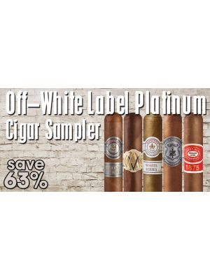 Off-White Label Platinum Cigar Sampler