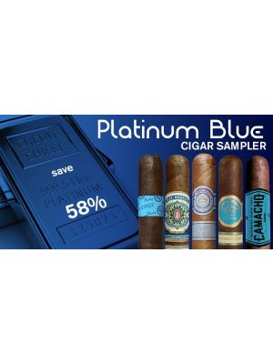 Platinum Blue Cigar Sampler