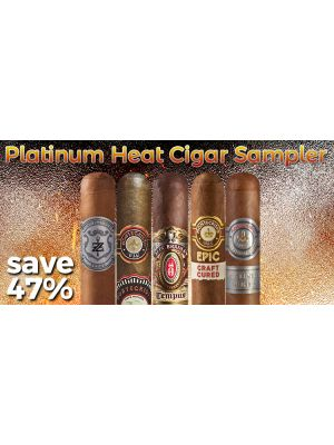 Platinum Heat Cigar Sampler