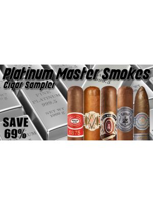 Platinum Master Smokes Cigar Sampler