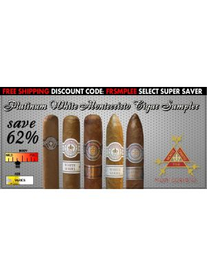 Platinum White Montecristo Cigar Sampler
