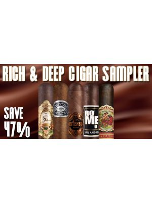 Rich and Deep Cigar Sampler