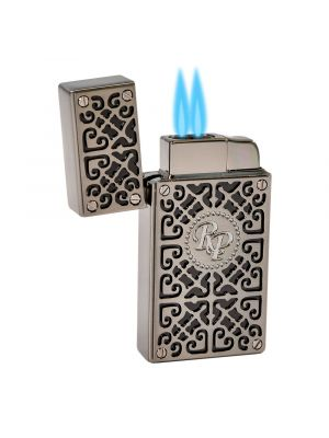 Rocky Patel Lighter Burn Double Torch Black