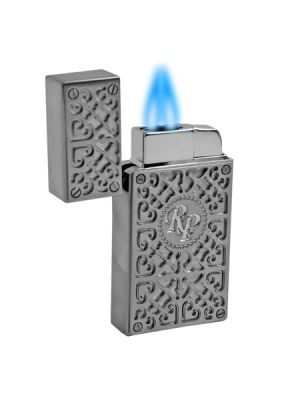 Rocky Patel Lighter Burn Double Torch Chrome