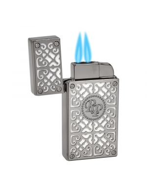 Rocky Patel Lighter Burn Double Torch White