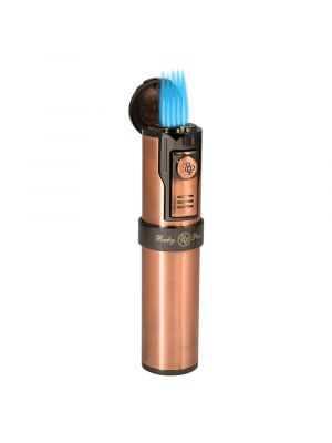 Rocky Patel Lighter Diplomat 5 Torch With Punch Copper