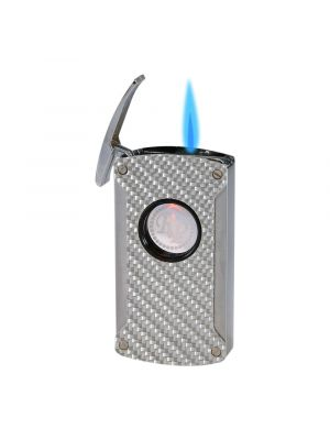 Rocky Patel Lighter Laser Torch Gunmetal Carbon