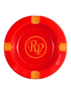 Rocky Patel Round Ashtray Red