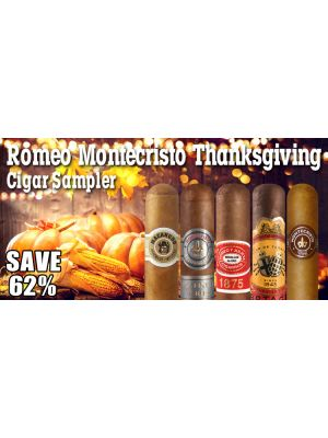 Romeo Montecristo Thanksgiving Cigar Sampler
