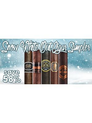 Snow White Out Cigar Sampler