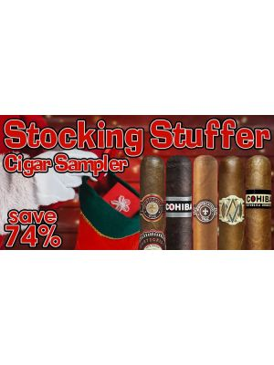 Stocking Stuffer Cigar Sampler