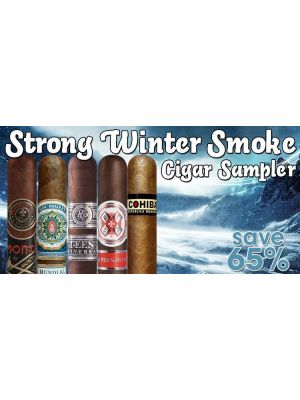 Strong Winter Smoke Cigar Sampler