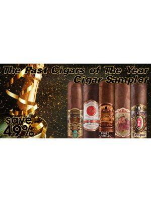 The Past Cigars of The Year Cigar Sampler 5 cigars