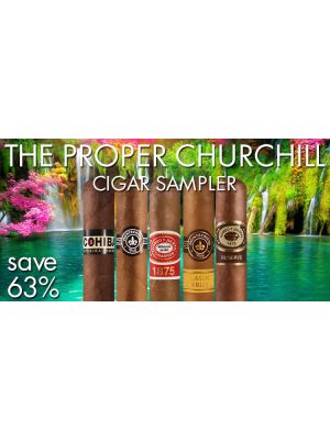 The Proper Churchill Cigar Sampler