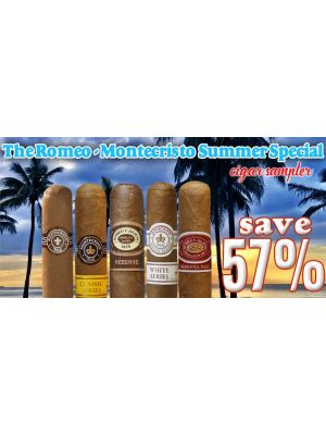 The Romeo Montecristo Summer Special Cigar Sampler