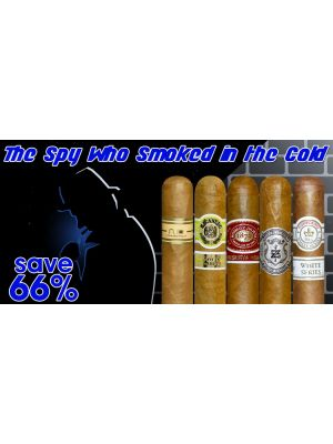 The Spy Who Smoked In The Cold Cigar Sampler 50 cigars