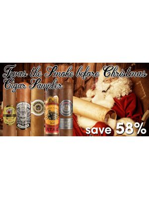 Twas The Smoke Before Christmas Cigar Sampler