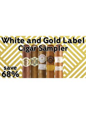 White and Gold Label Cigar Sampler