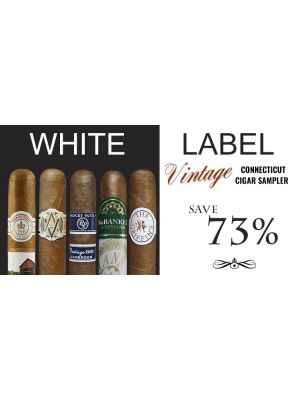 White Label Vintage Connecticut Cigar Sampler