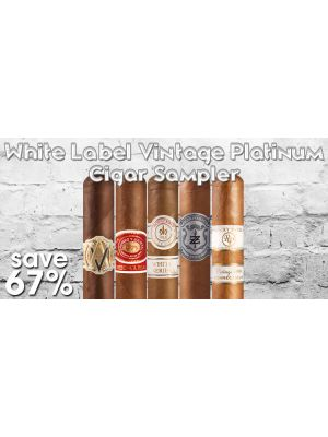 White Label Vintage Platinum Cigar Sampler