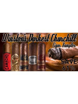 Winston's Darkest Churchill Cigar Sampler