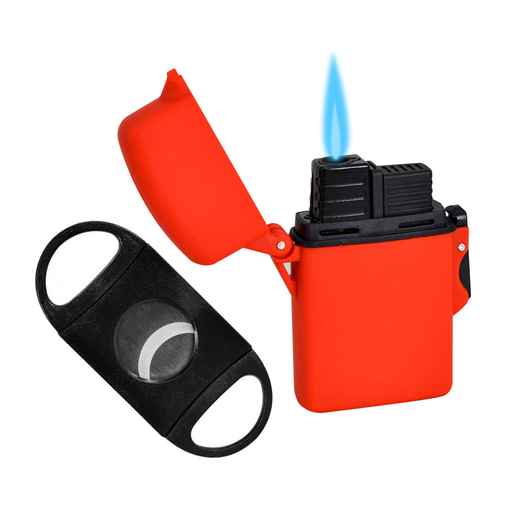 Add a lighter and cutter ($15.00 value) for only $4.99 with purchase, color may vary