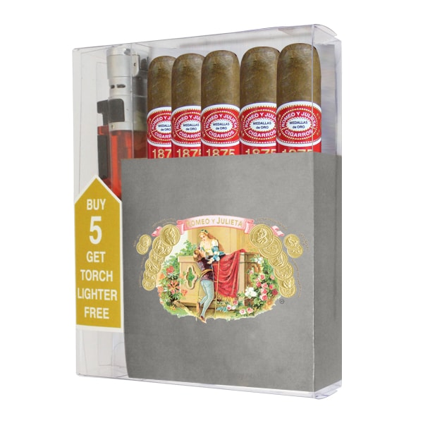 Add a Romeo y Julieta 1875 Bully cigar collection ($35.00 value) for only $19.95 with any box purchase