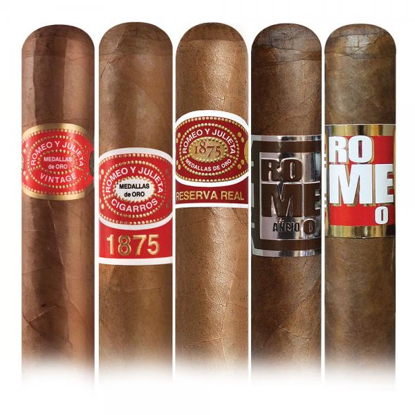 Add a Romeo y Julieta 5 cigar sampler ($44.05 value) for only $1.99 with box purchase
